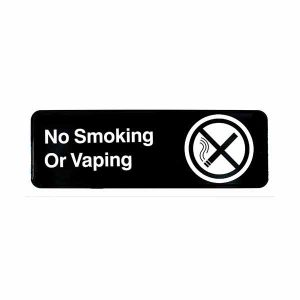 No Smoking or Vaping Sign | Buyhoreca