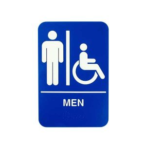 Men Bathroom Signage | Buyhoreca