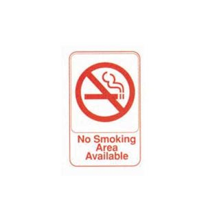 No Smoking Area Available | Buyhoreca